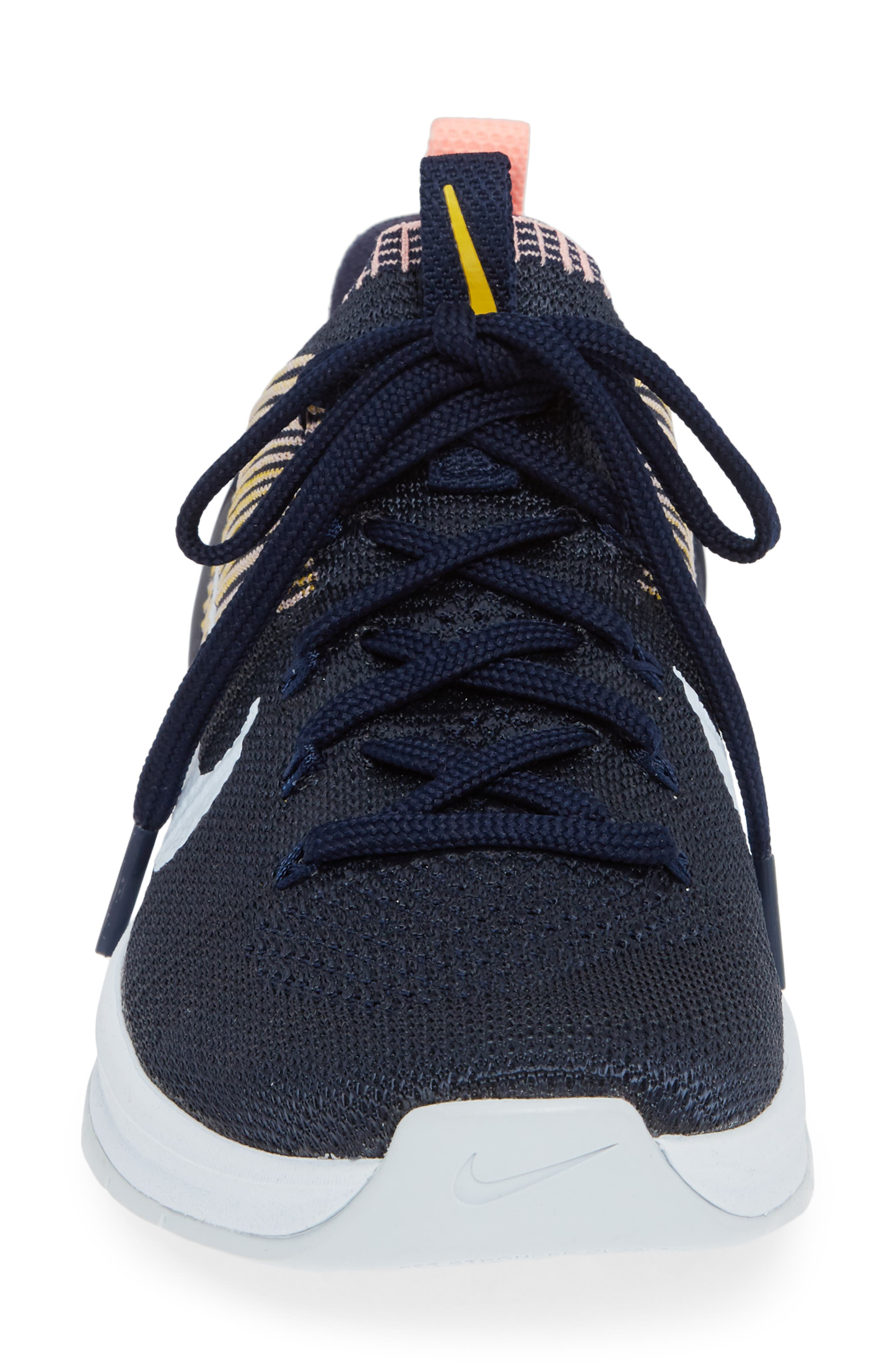 Metcon DSX Flyknit 2 Training Shoe,                             Alternate thumbnail 3, color,                             College Navy/ Blue Tint/ Pink