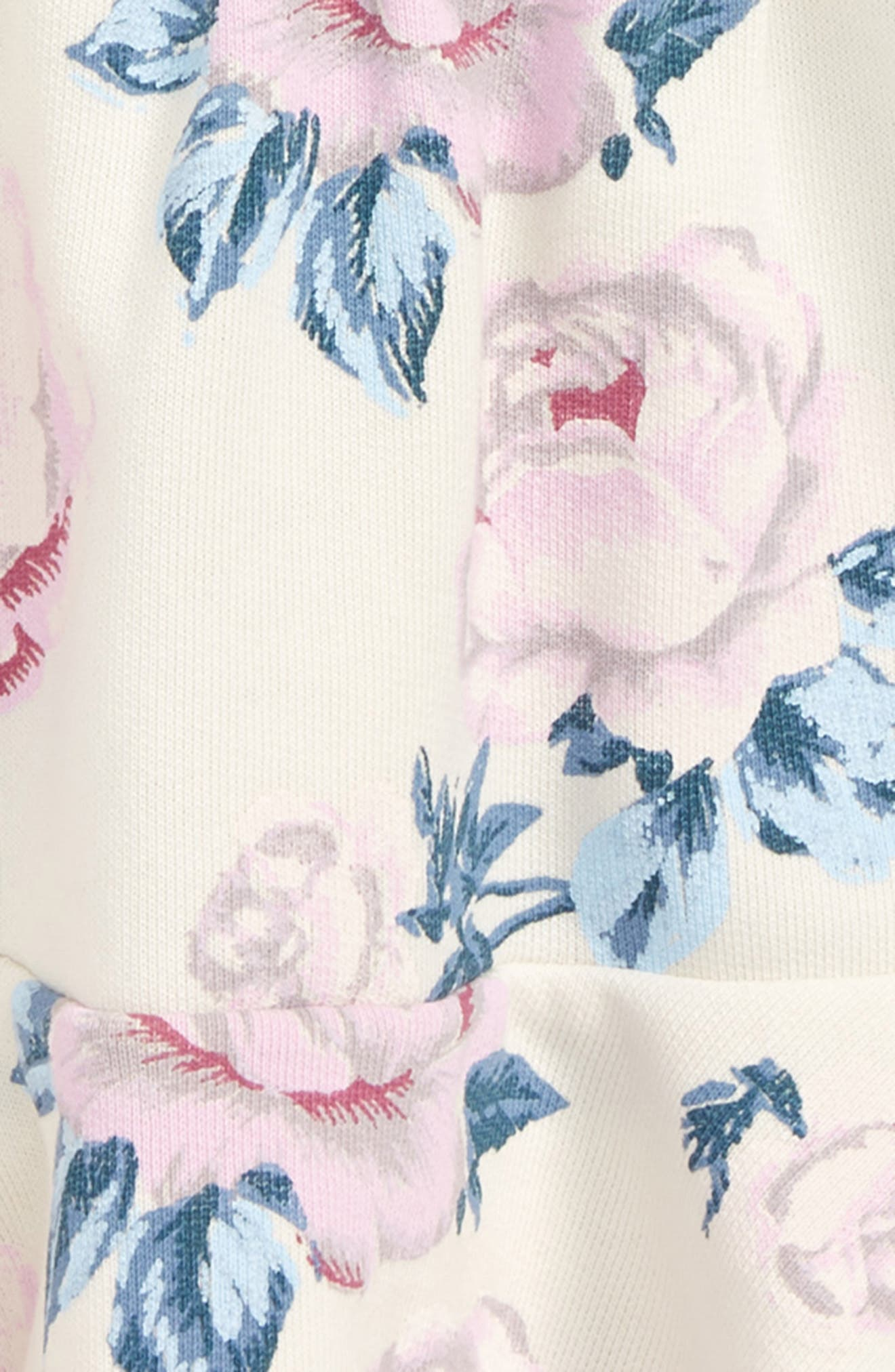 Peek Kirsten Floral Print Dress,                             Alternate thumbnail 2, color,                             Ivory