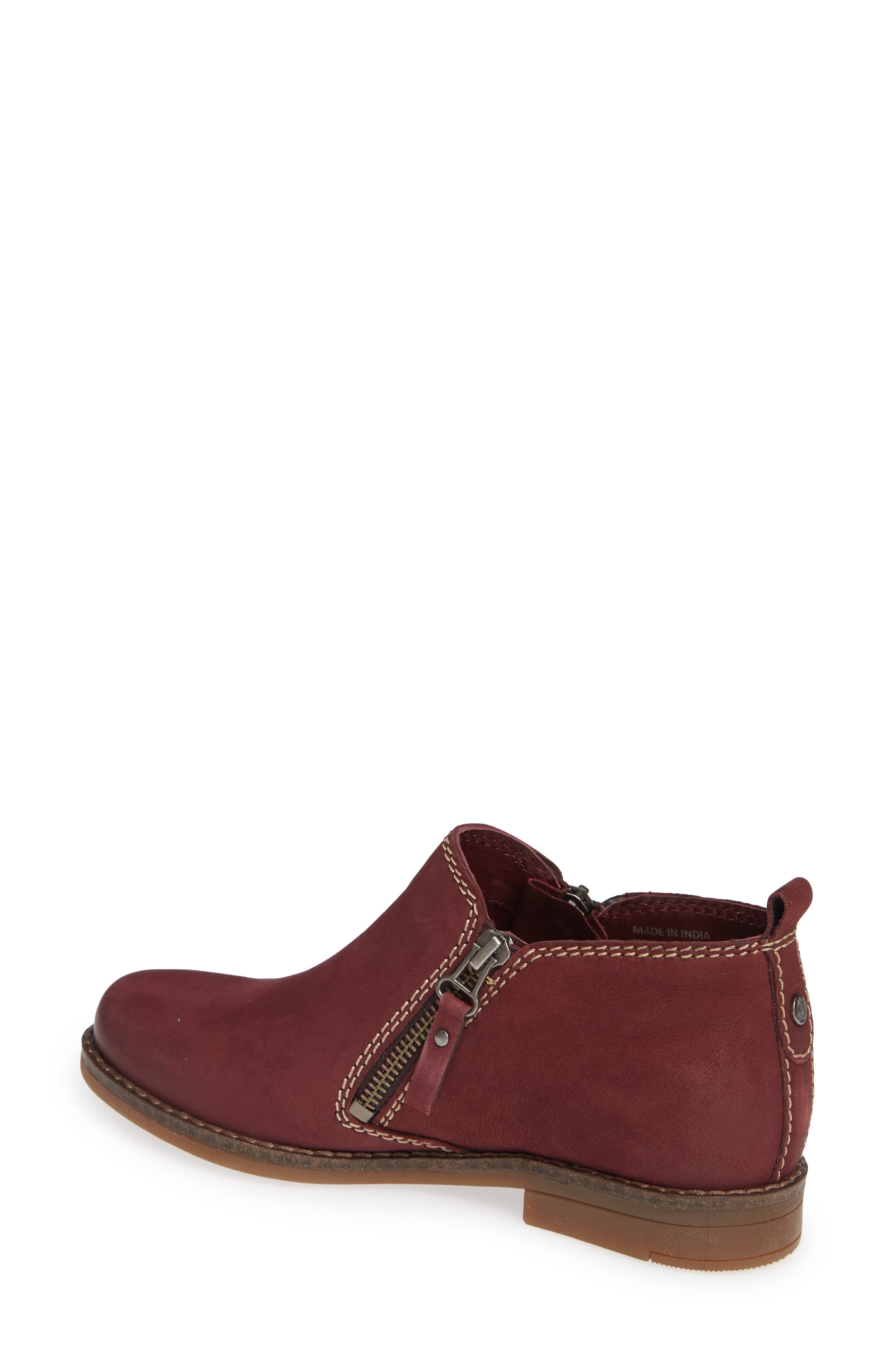 'Mazin Cayto' Bootie,                             Alternate thumbnail 2, color,                             Dark Wine Nubuck