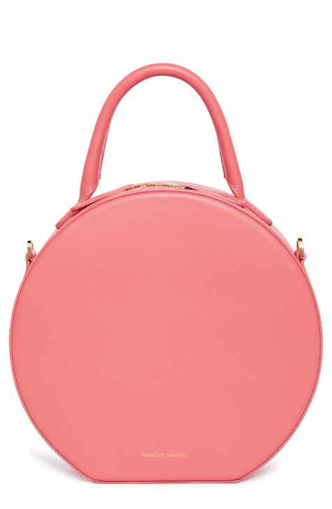 Mansur Gavriel Leather Circle Crossbody Bag ac5d0ae1ed72
