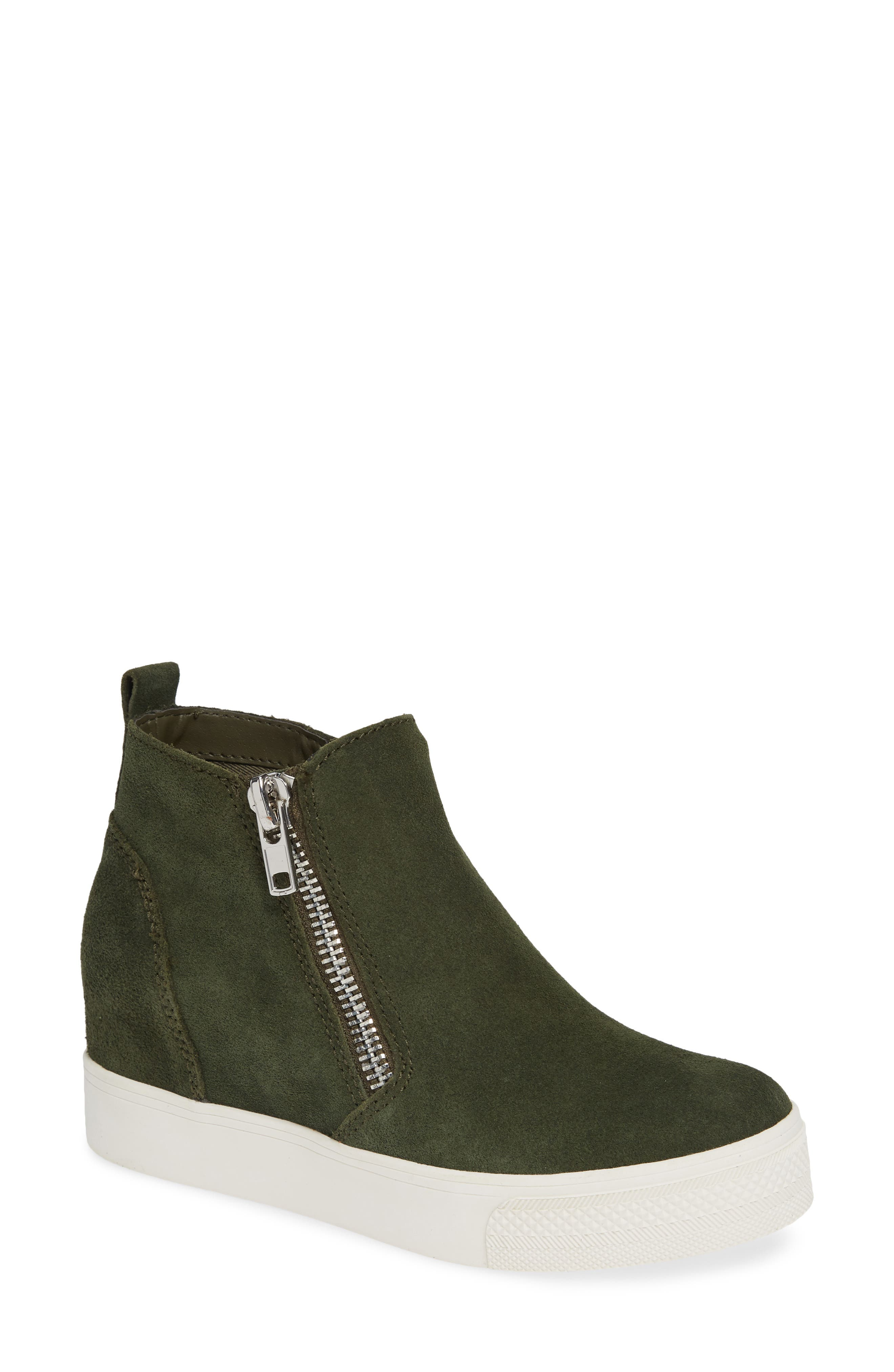 549dbf543f6 High Top Wedge Sneakers for Women