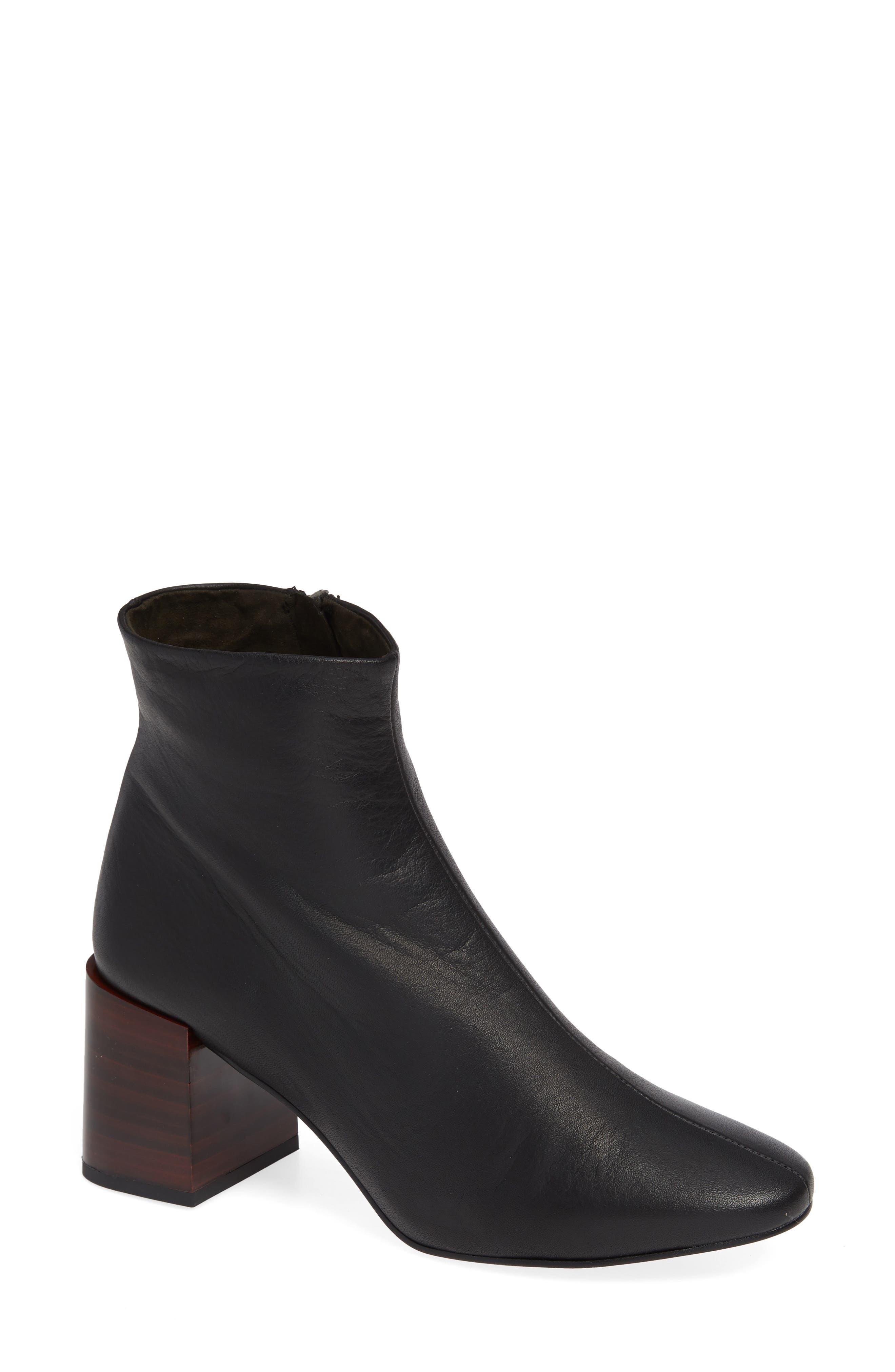 Topshop Womens Shoes Nordstrom Cut Engineer Crocodile Safety Steel Genuine Leather Brown