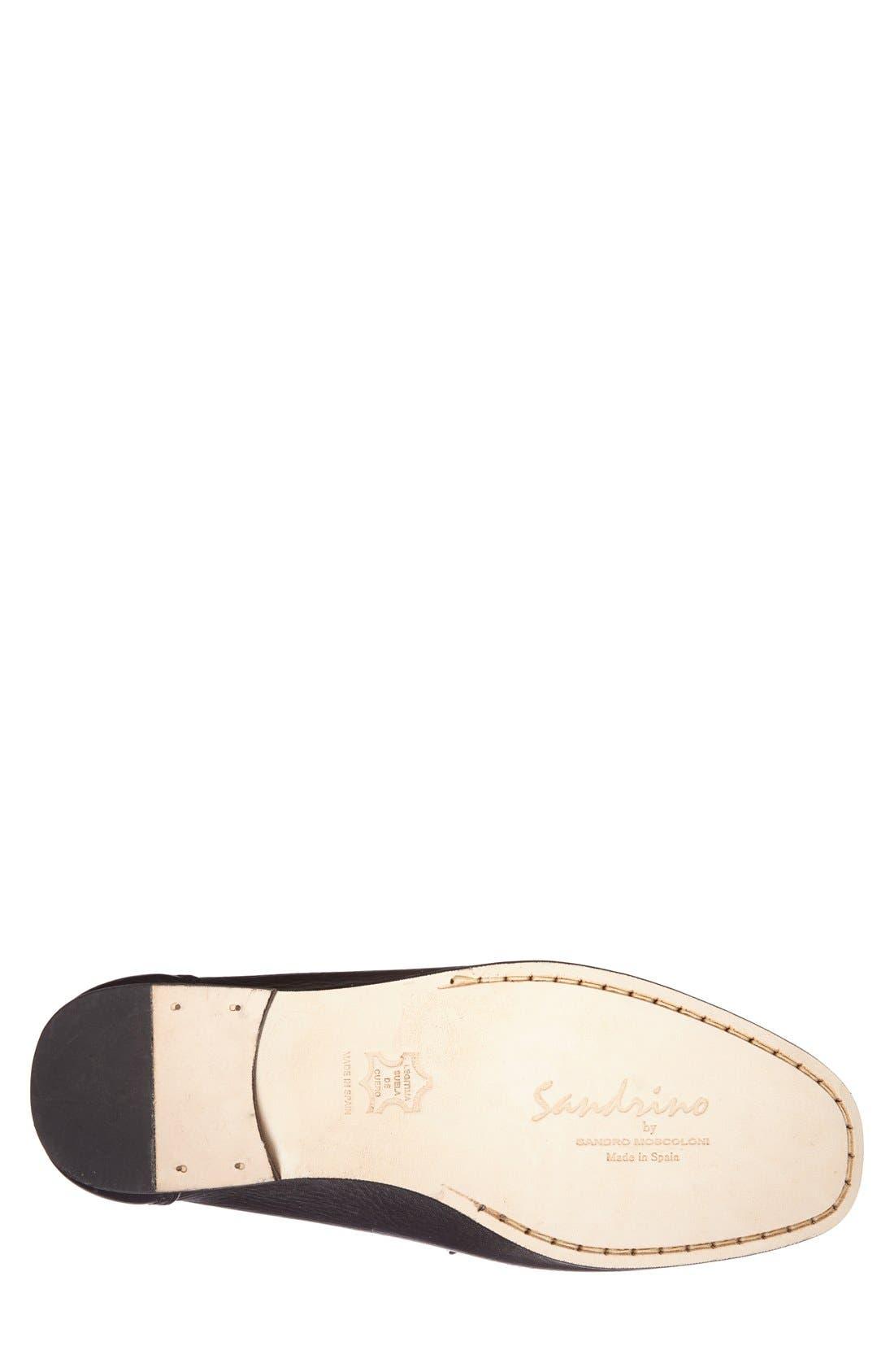 Alternate Image 2  - Sandro Moscoloni 'San Remo' Leather Bit Loafer (Men)