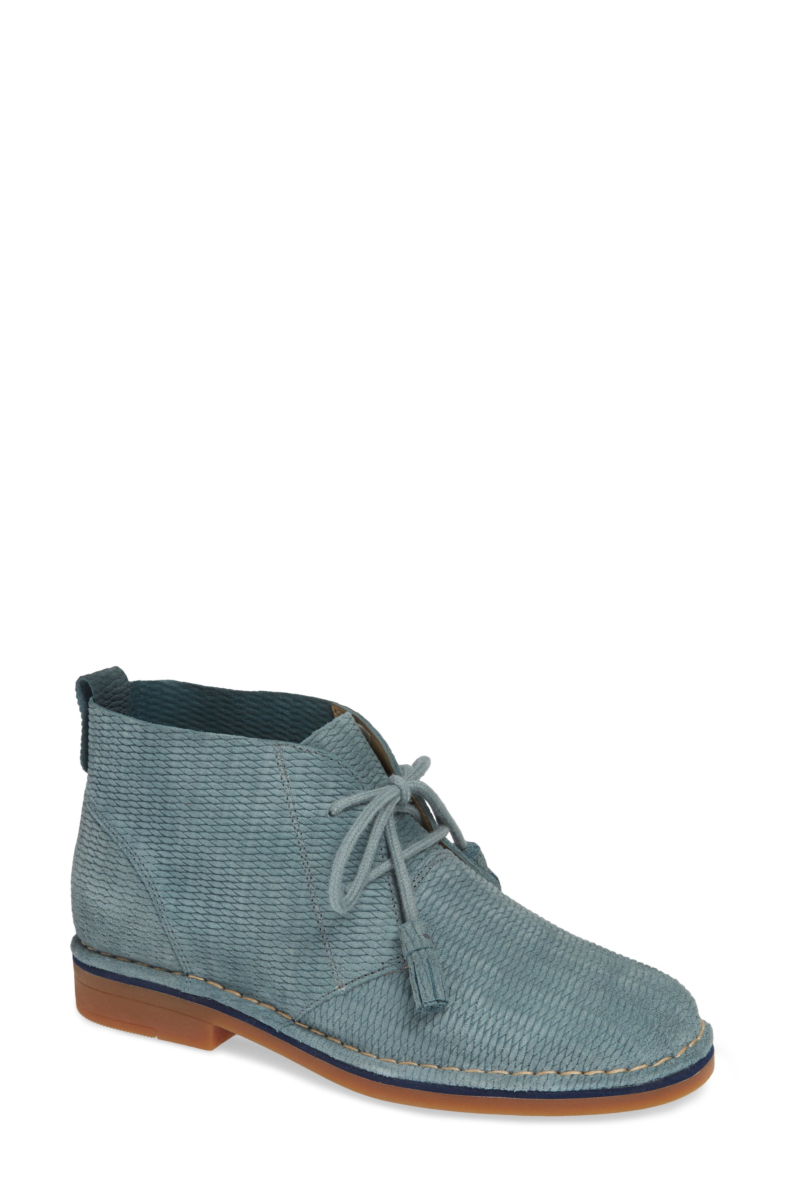 'Cyra Catelyn' Chukka Boot,                         Main,                         color, Storm Embossed Suede
