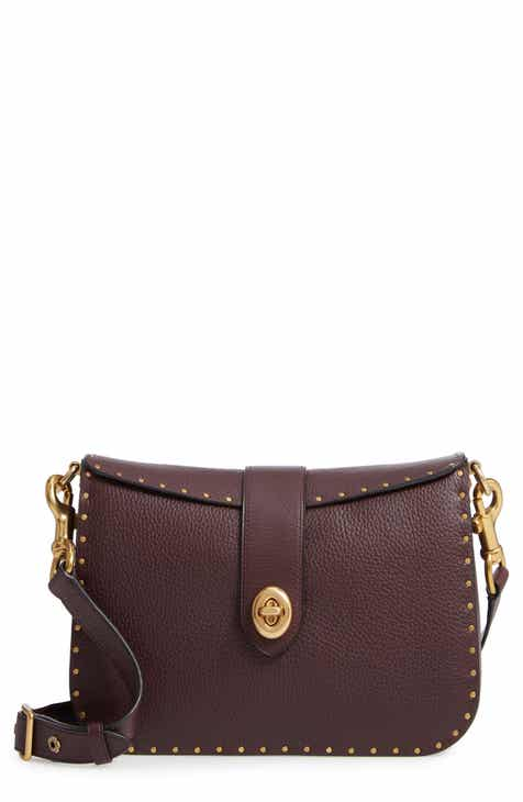 Coach 1941 Page 27 Rivets Leather Crossbody Bag