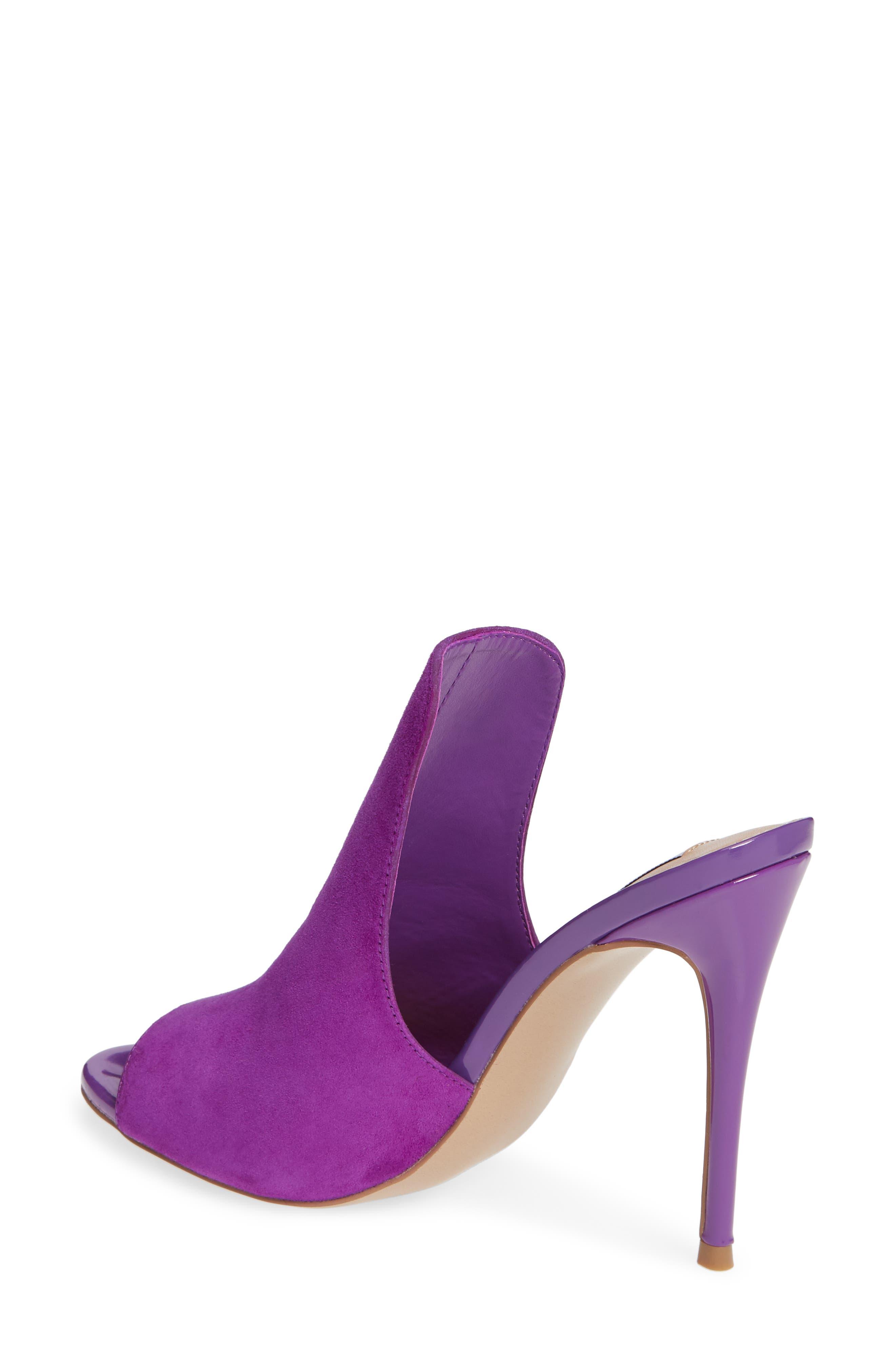 Sinful Sandal,                             Alternate thumbnail 2, color,                             Purple Suede