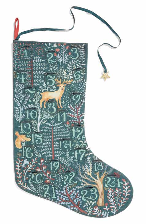 nordstrom at home advent stocking - Blue Christmas Stocking