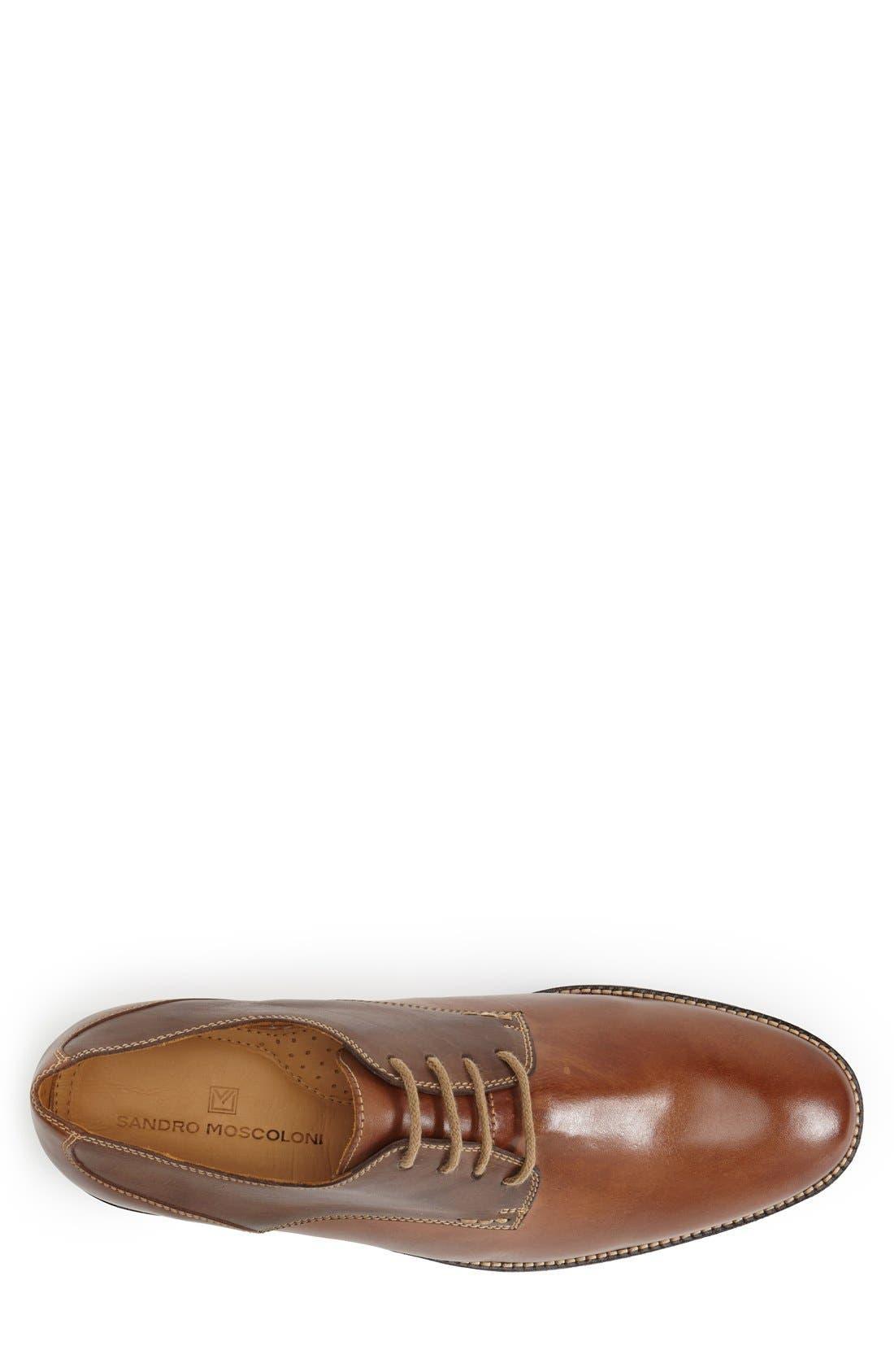 'Olsen' Plain Toe Derby,                             Alternate thumbnail 3, color,                             Brown