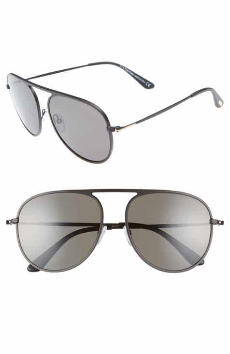 56aa67cf128 Tom Ford 59mm Aviator Sunglasses