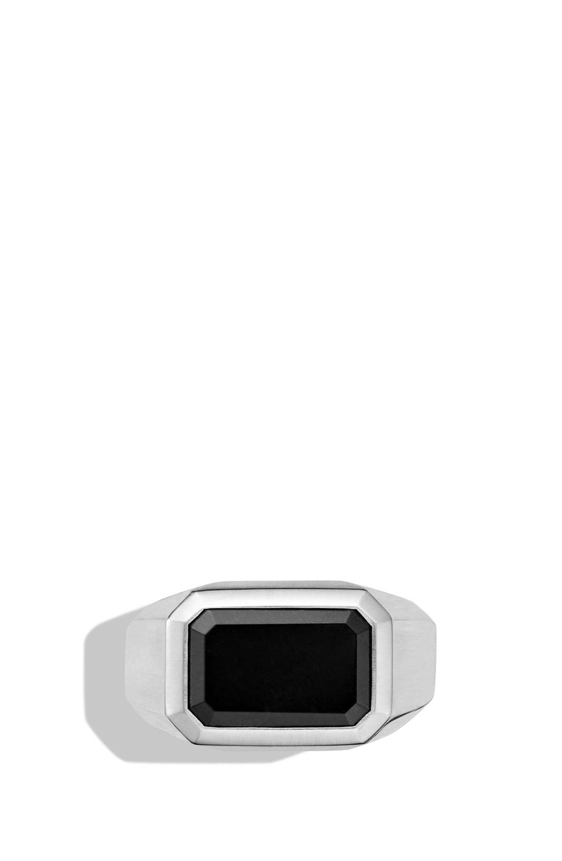 Alternate Image 3  - David Yurman 'Exotic Stone' Signet Ring with Semiprecious Stone