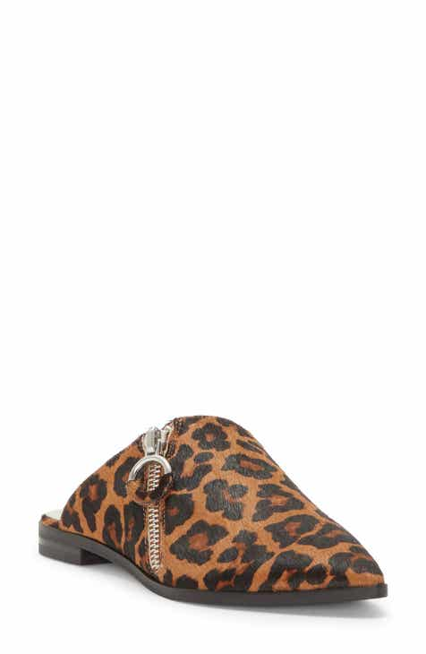 1.STATE Felid Genuine Calf Hair Zip Mule (Women)