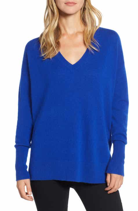 Womens Blue Sweaters Nordstrom