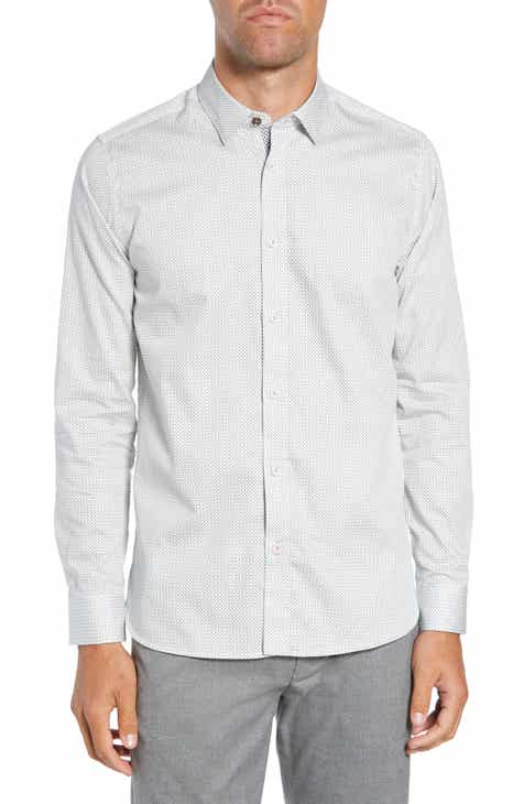 65baa2191888 Ted Baker London Men s Casual Button-Down Shirts Clothing