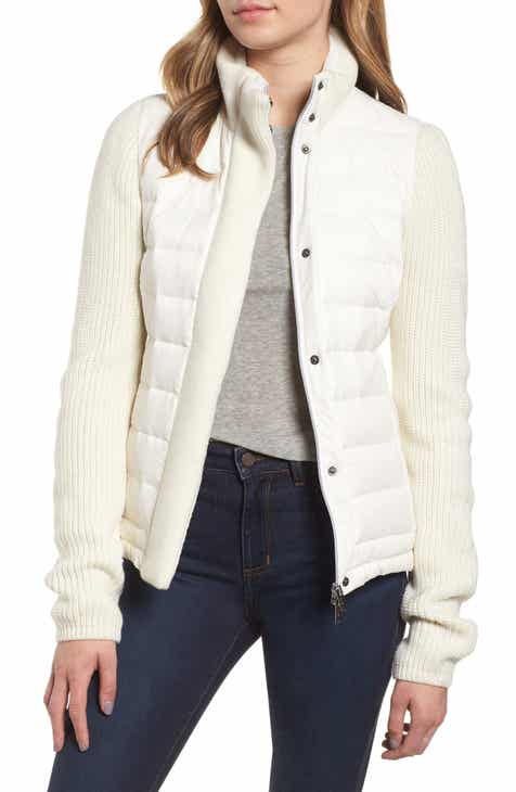 b3a07359d04 Mark New York Packable Knit Trim Puffer Jacket