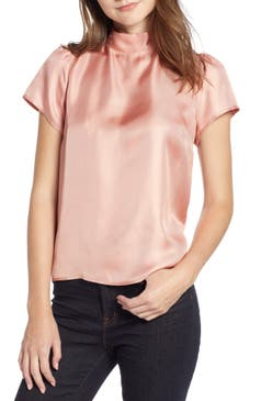 J Crew Collection Bow Back Silk Top