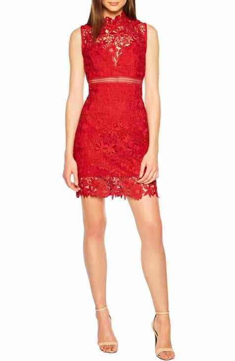 Bardot Paris Lace Body Con Dress