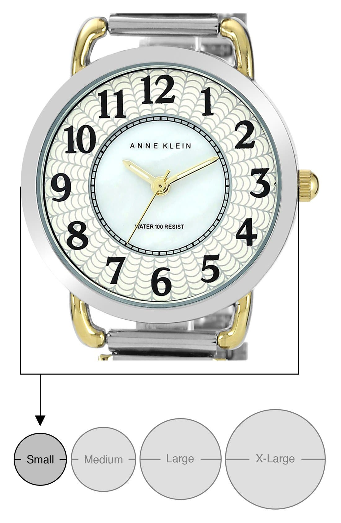 Alternate Image 3  - AK Anne Klein Expansion Bracelet, 27mm