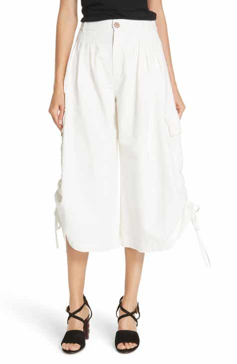 See by Chloé Crop Wide Leg Trousers by SEE BY CHLOE