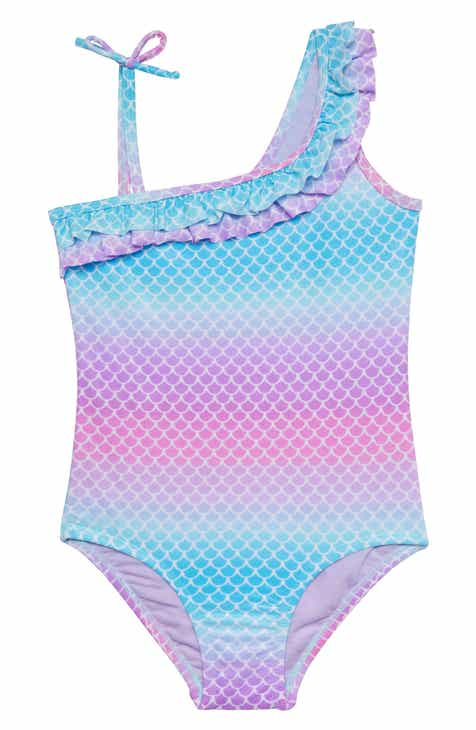b7ac8c3f13 Hula Star Atlantis Mermaid One-Piece Swimsuit (Toddler Girls   Little Girls)