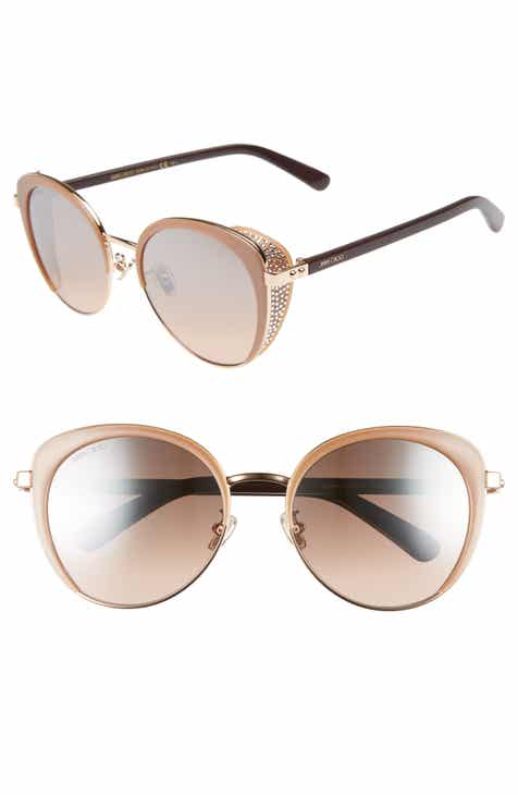 3d2c3ef701 Jimmy Choo Gabby 56mm Special Fit Round Sunglasses