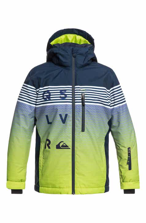 03190b499e Quiksilver Mission Engineered Waterproof Insulated Jacket (Big Boys)