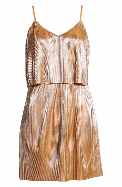 Lira Clothing Shine On Shine On Pleated Dress