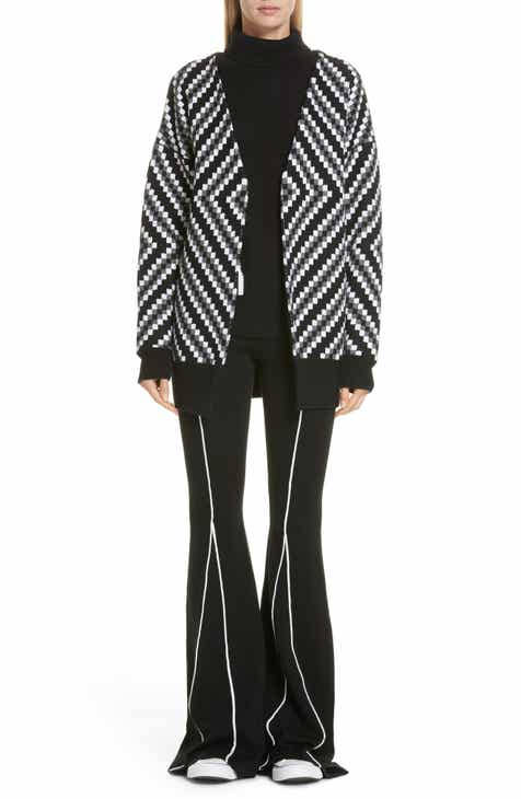 Victor Glemaud Diamond Stripe Cardigan by VICTOR GLEMAUD