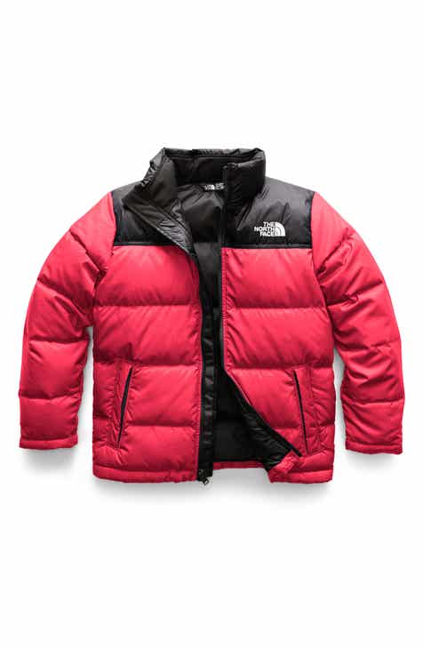 a394fb513cf15 The North Face Nuptse 700 Fill Power Down Jacket (Big Boys)