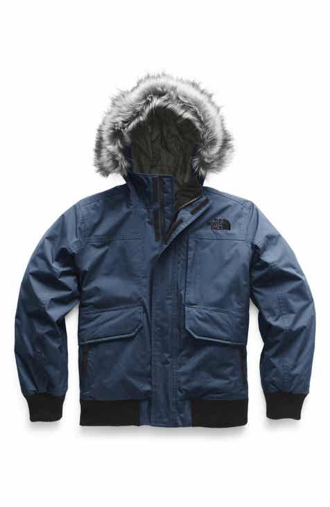c66c83ea8aaa The North Face Gotham Hooded 550 Fill Power Down Jacket (Big Boys)