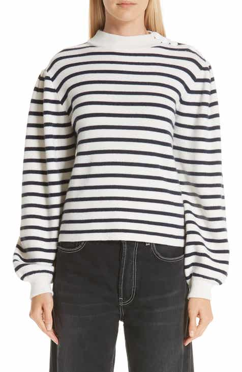 Ganni Stripe Knit Sweater by GANNI