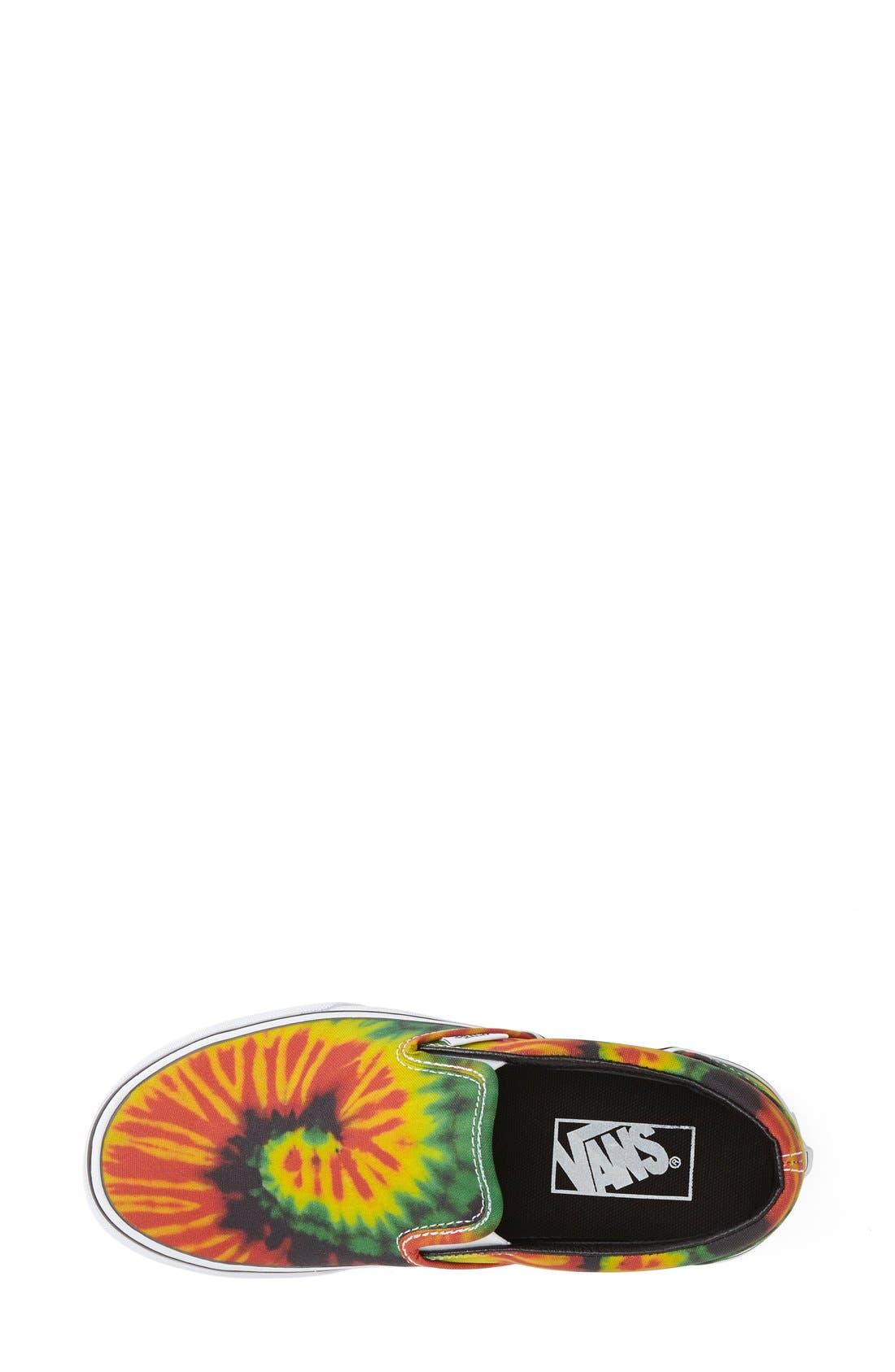 Alternate Image 3  - Vans 'Tie Dye' Slip-On Sneaker (Women)