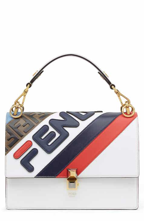 55be4ff573 Fendi x FILA Kan I Mania Logo Shoulder Bag