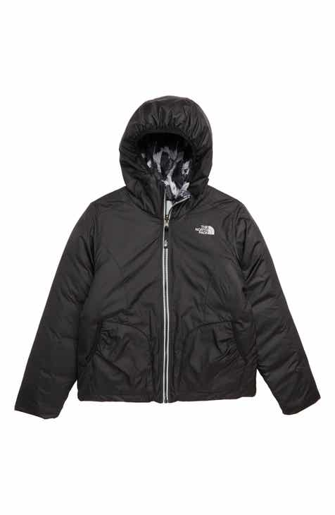 The North Face Perrito Reversible Water-Repellent Hooded Jacket (Big Girls) c519d3686
