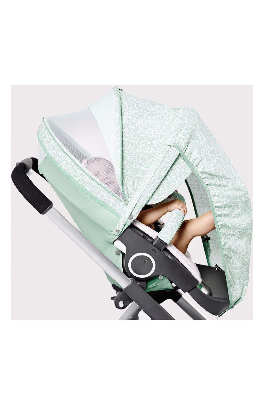 Baby 'Xplory<sup>®</sup> Stroller Summer Kit' Shade Set,                             Alternate thumbnail 6, color,                             Salty Blue