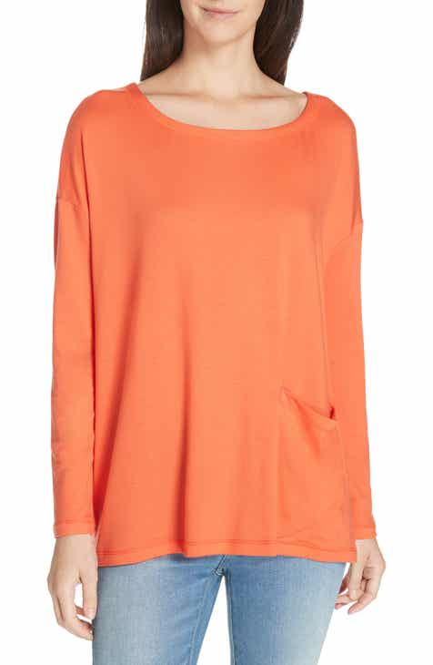 4b6d649bc94 Eileen Fisher Stretch Terry Top (Plus Size)