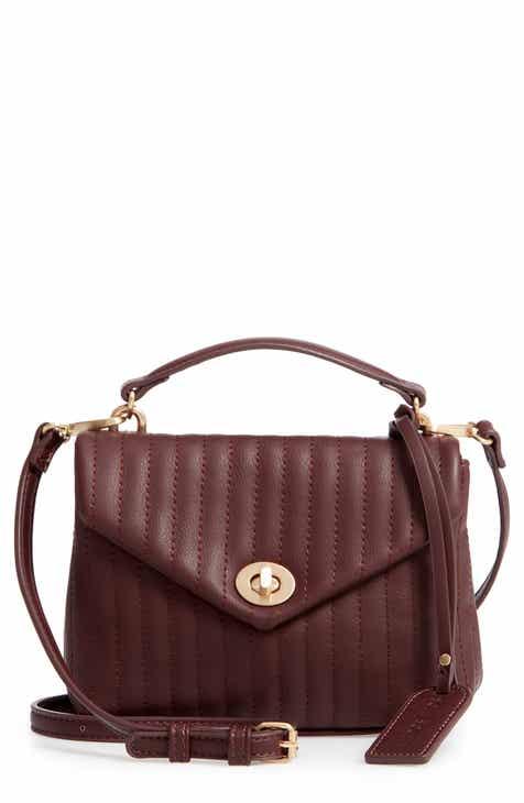 755a8d22ffe2 Sole Society Urche Faux Leather Crossbody Bag