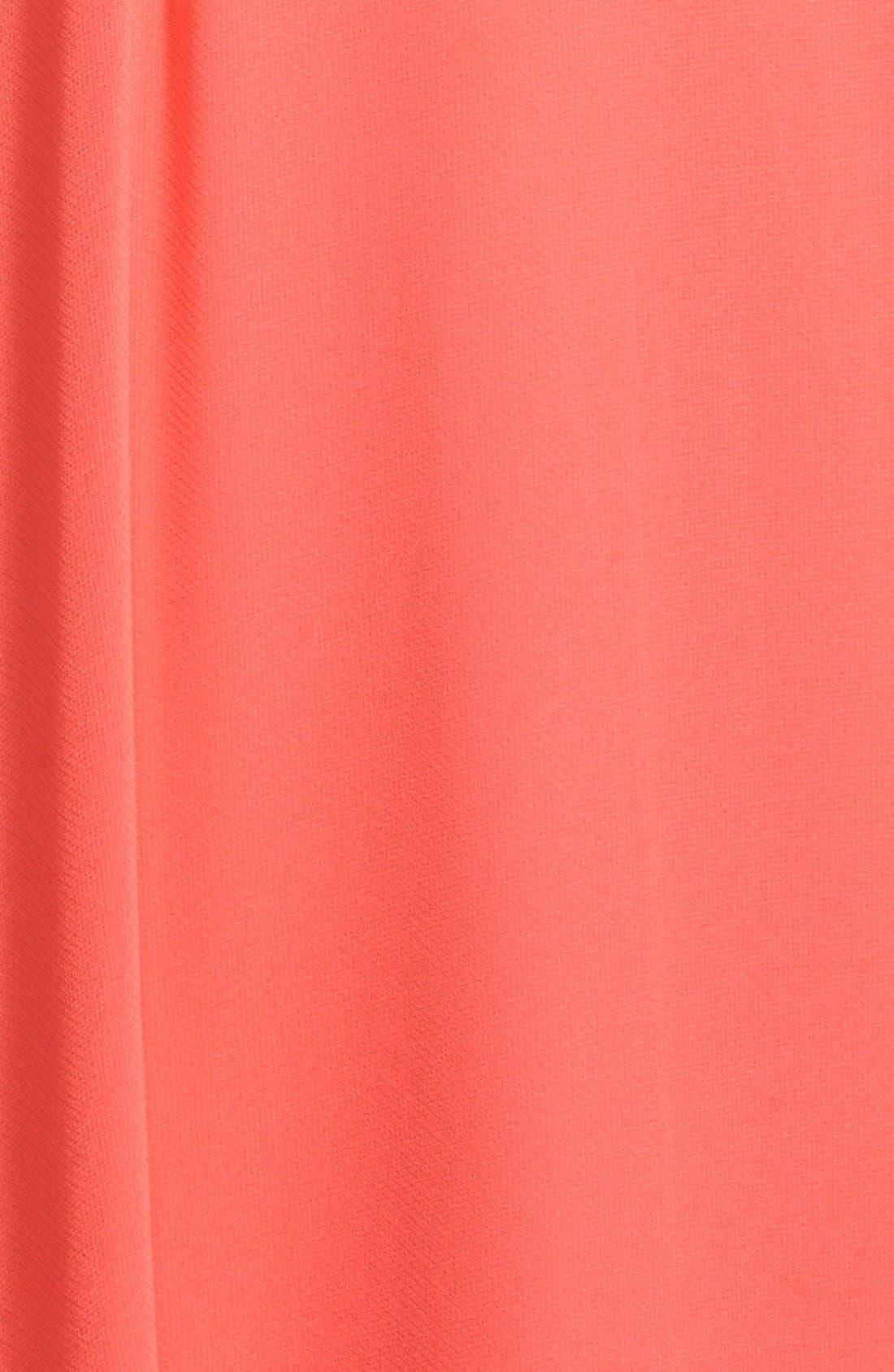 Alternate Image 3  - BCBGMAXAZRIA 'Daniele' Embellished One-Shoulder Georgette Gown