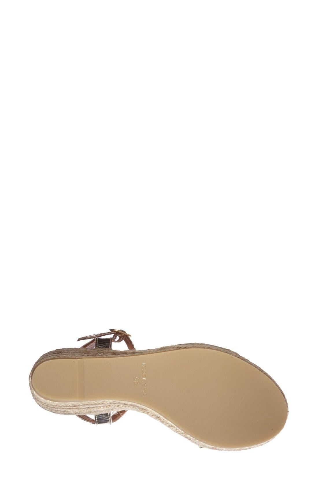 Alternate Image 4  - André Assous 'Brasilia' Ankle Strap Espadrille Sandal (Women)