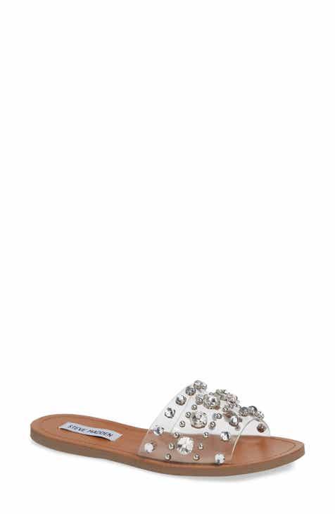 52b20bc0b8e4 Steve Madden Regent Embellished Slide Sandal (Women)