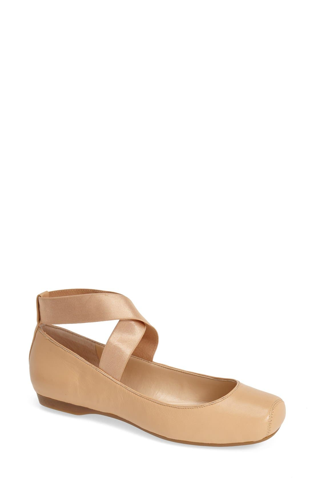 Alternate Image 5  - Jessica Simpson 'Mandalaye' Leather Flat