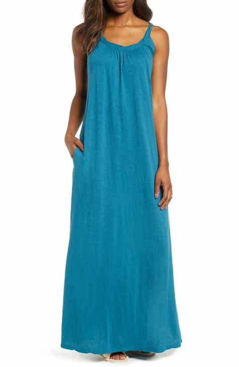 13d67b50bb10 Caslon® Twist Neck Maxi Dress (Regular   Petite)