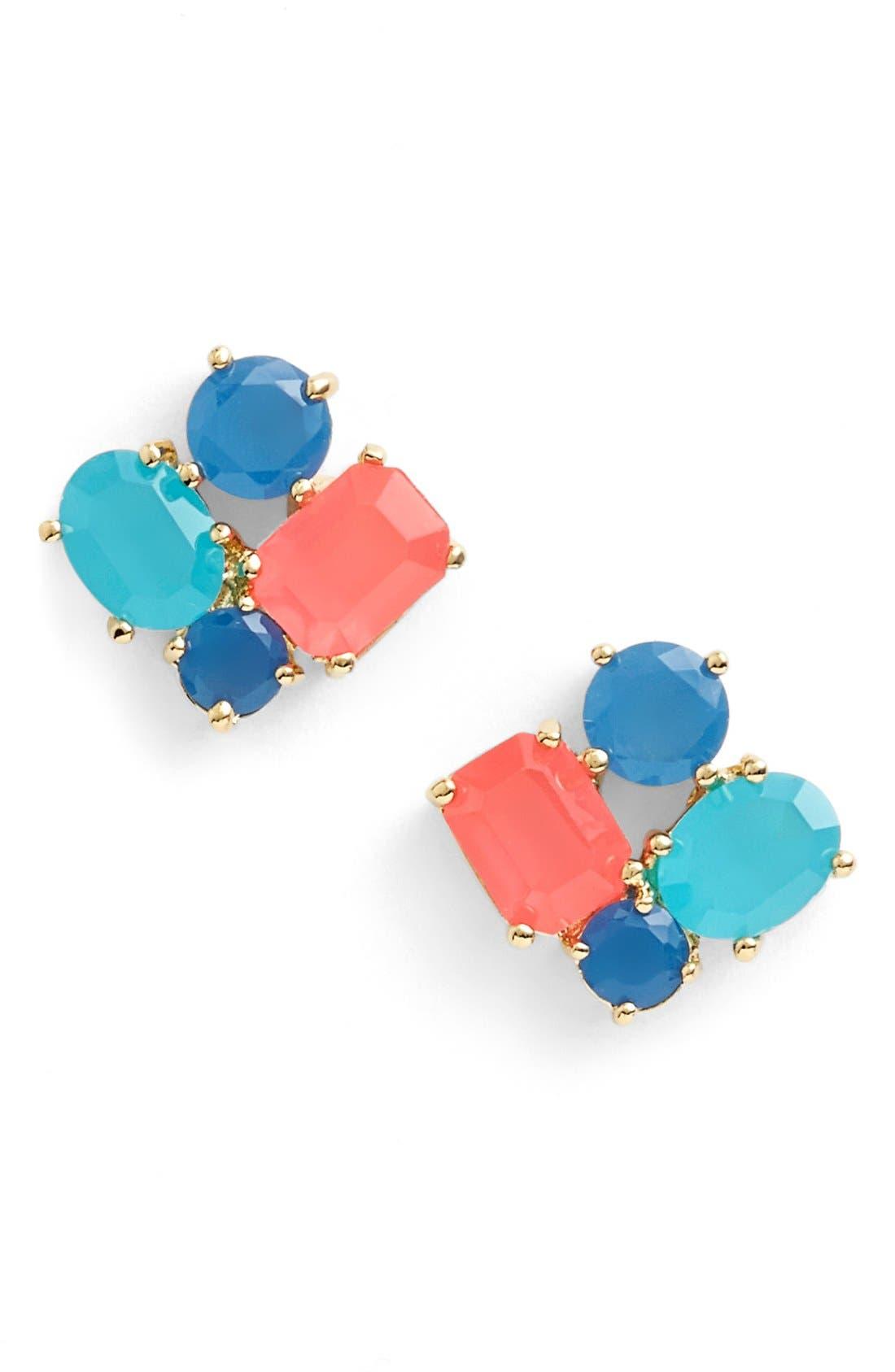 Alternate Image 1 Selected - kate spade new york cluster stud earrings