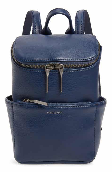 a51902c465e Matt   Nat Mini Brave Faux Leather Backpack
