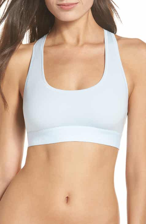 512b43088a444 Calvin Klein Modern Cotton Collection Cotton Blend Racerback Bralette