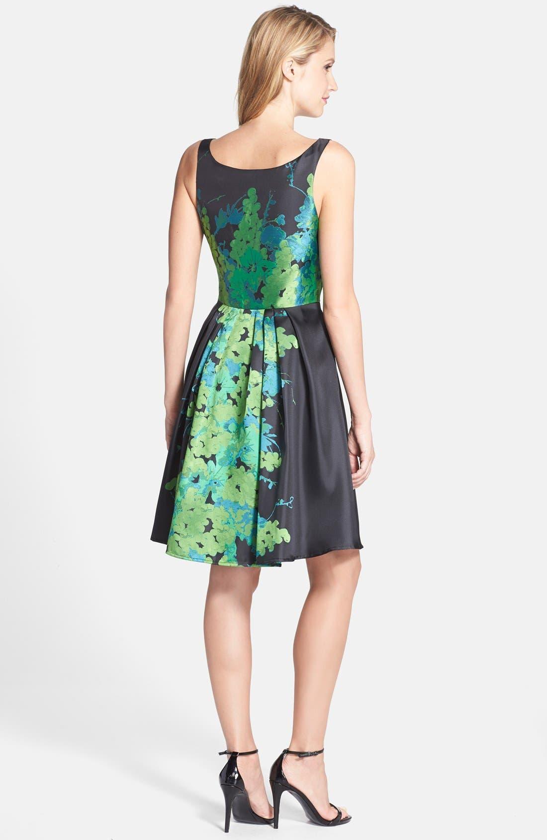 Alternate Image 2  - Eva by Eva Franco 'Betty' Floral Print Fit & Flare Dress