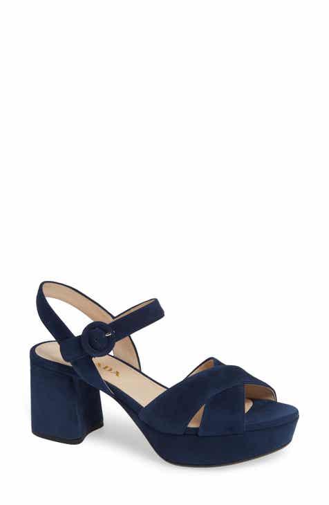 9315e20643f Prada Quarter Strap Platform Sandal (Women) (Nordstrom Exclusive)