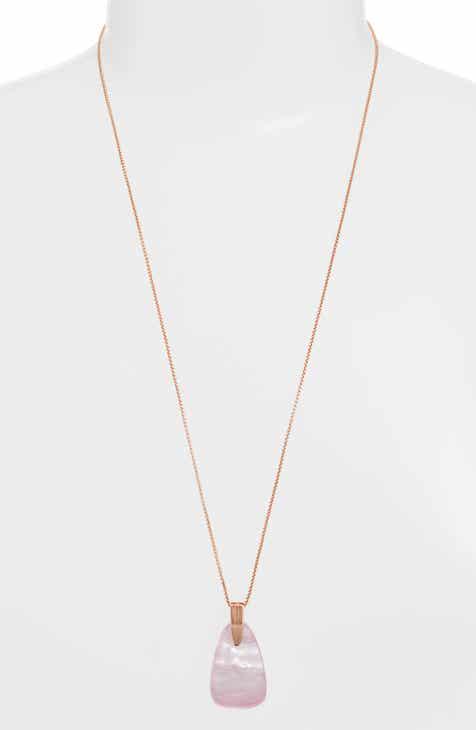 52f1412c47d37d Kendra Scott Maeve Long Stone Pendant Necklace