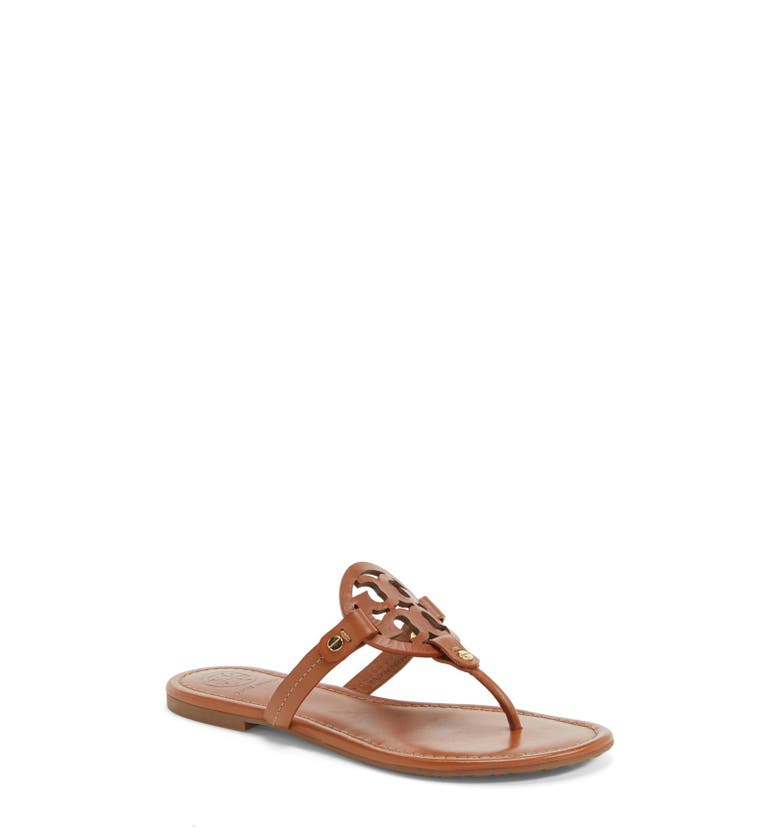 249a55047 TORY BURCH WOMEN S MILLER LEATHER THONG SANDALS