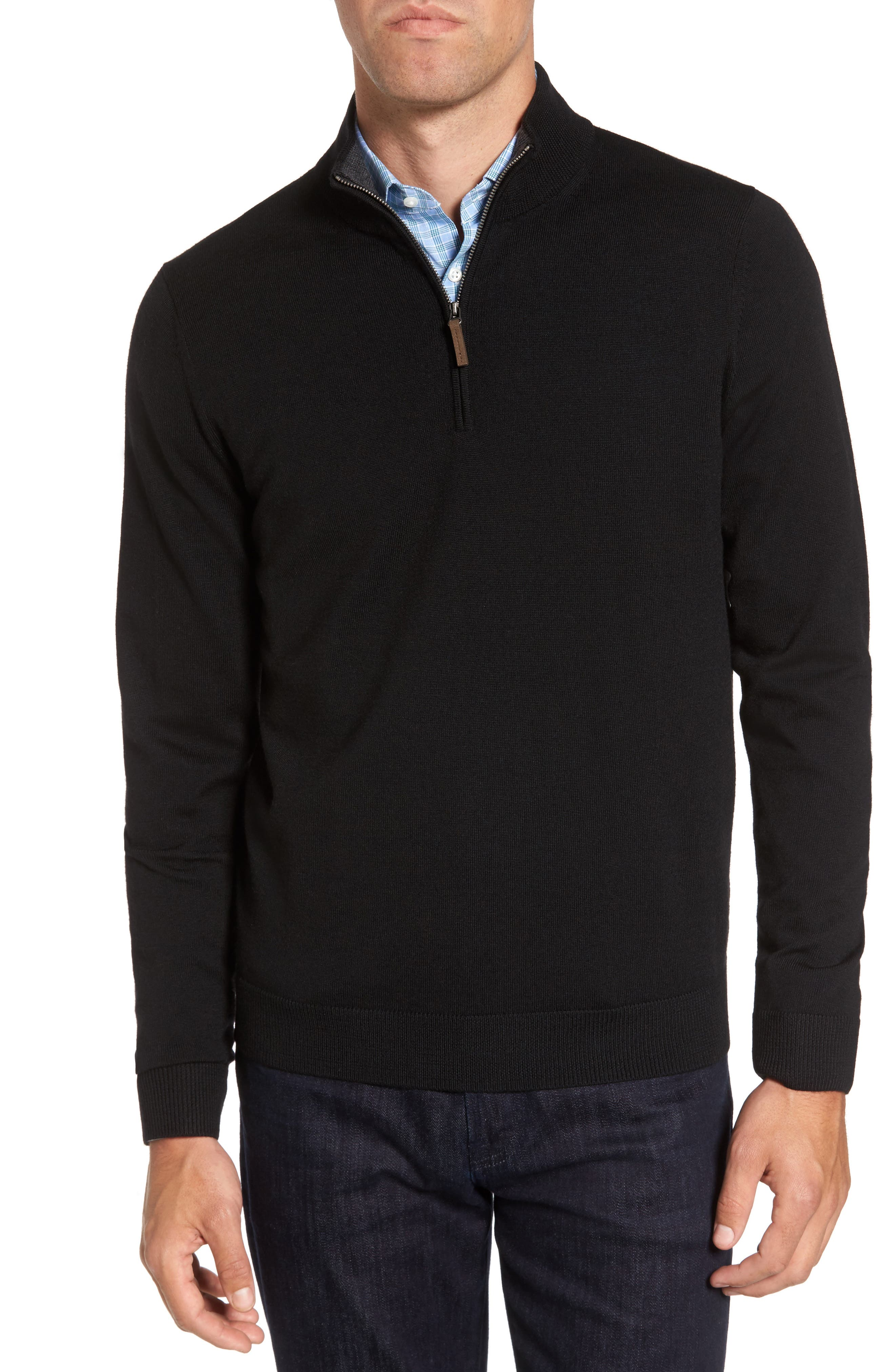 Black Sweater Shirt
