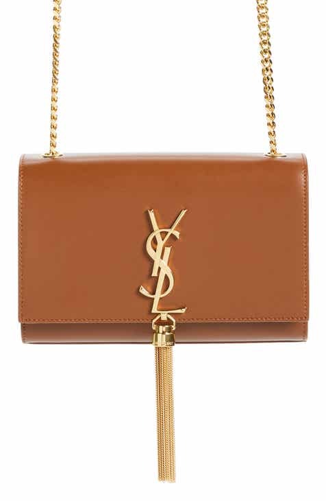 95e85cfe2f9 Saint Laurent Kate Tassel Calfskin Leather Shoulder Bag